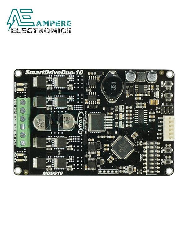 Cytron, 10Amp 7V-35V SmartDrive DC Motor Driver (2 Channels), MDDS10
