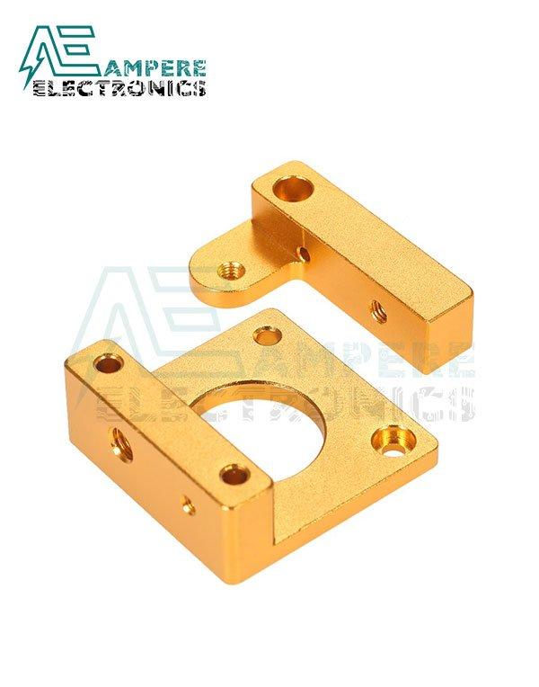 MK8 Remote Extruder Aluminum Frame Clamp Block DIY