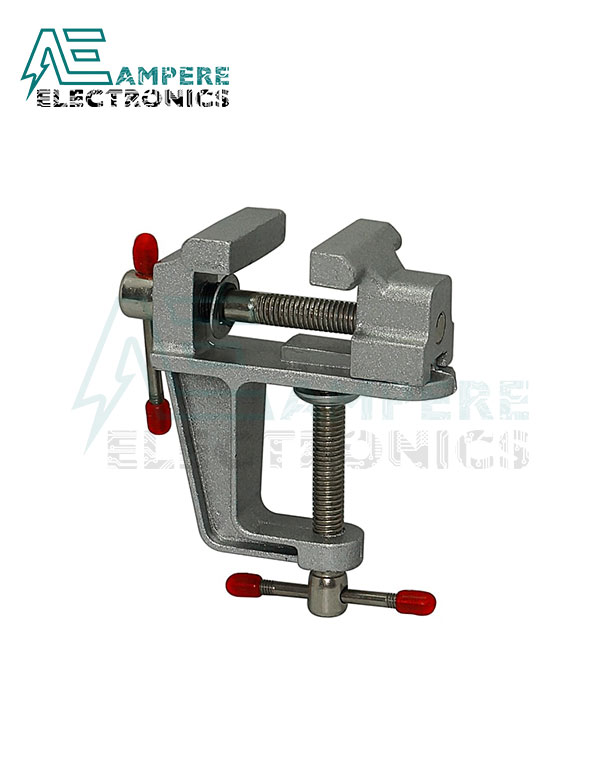 Aluminum Miniature Small Clamp On Table Bench Vise