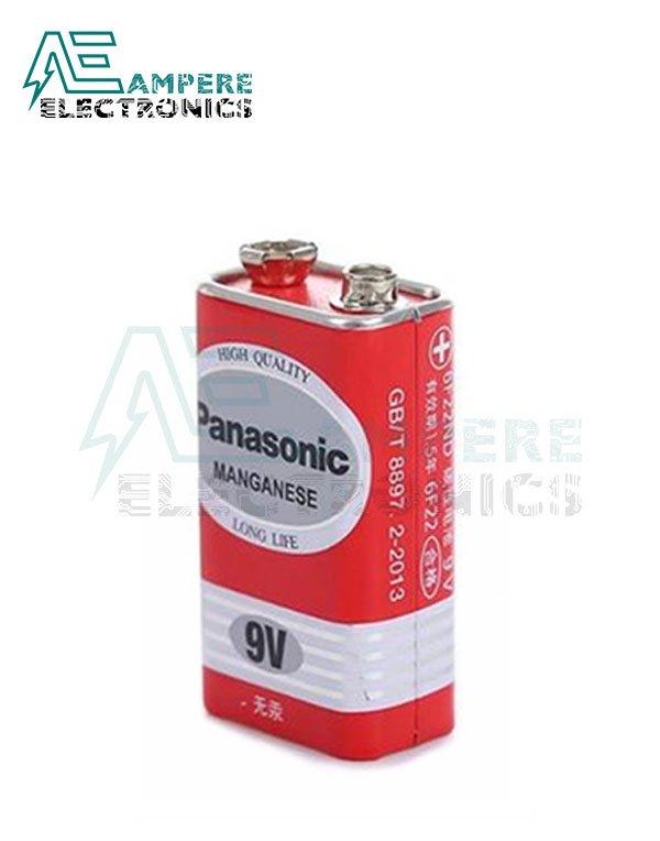9V Battery , Panasonic Long Life