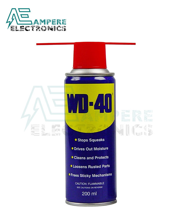 WD-40 Spray Multi-Use Lubricant Product – 200 ml
