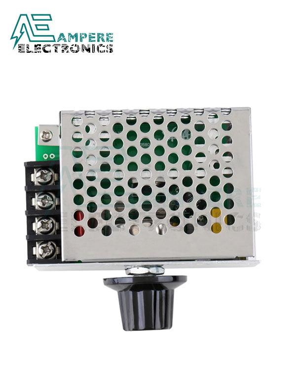 220VAc 4000W SCR Voltage Regulator Motor Speed Controller Dimming Thermostat