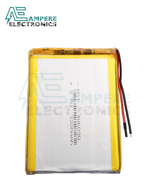 Polymer Li-Ion Single Cell Battery (3.7 V, 4000 mAh)