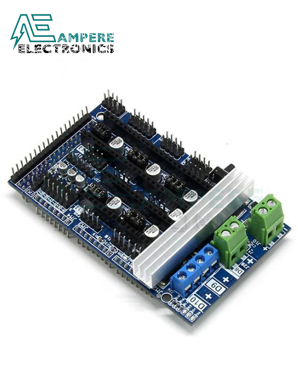 Ramps 1.6 Expansion Control Board with Heatsink Upgraded Ramps 1.4 1.5 for Arduino 3D Printer Board