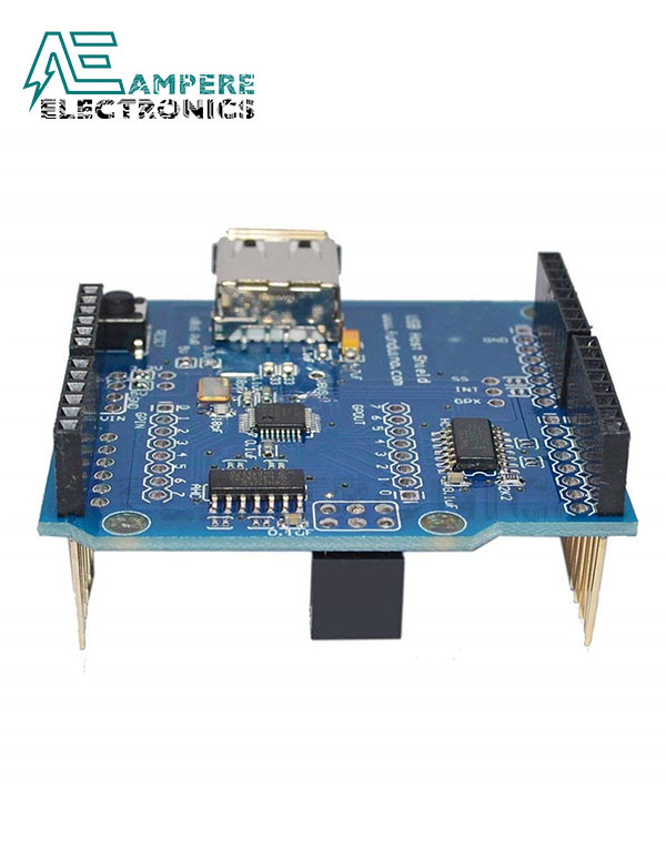 "Arduino Shield ""USB Host Shield – Support Google Android ADK"""