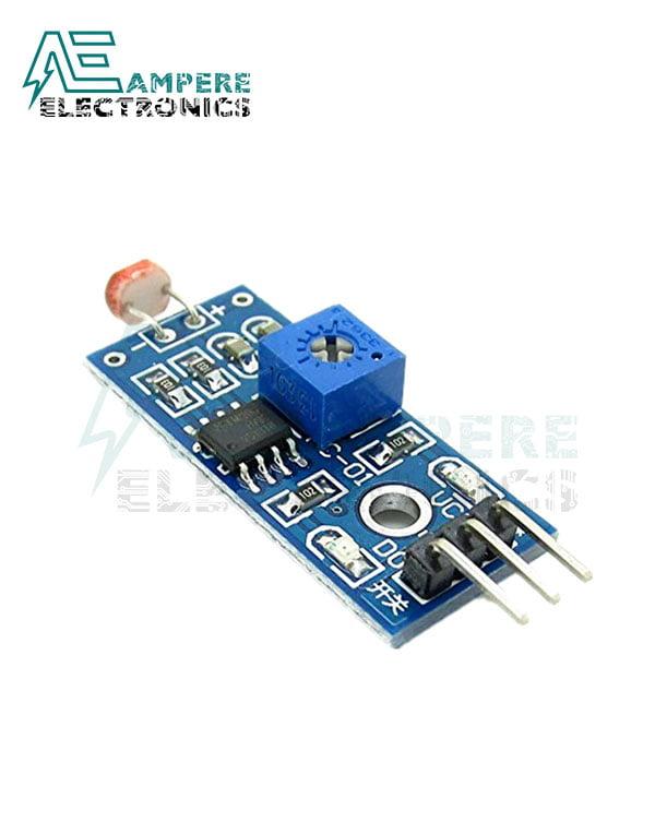 LDR Module – Optical Sensitive Resistance Light Detection Sensor Module