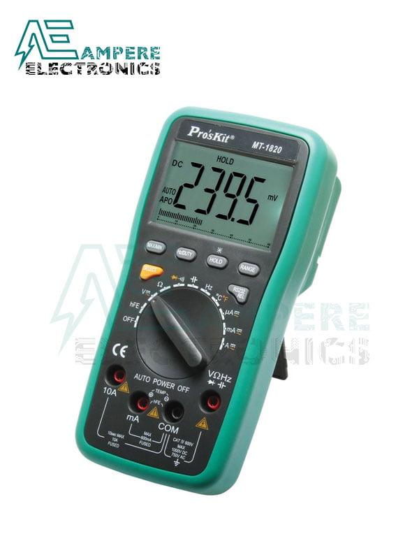 MT-1820 Digital Multimeter | Pro'sKit