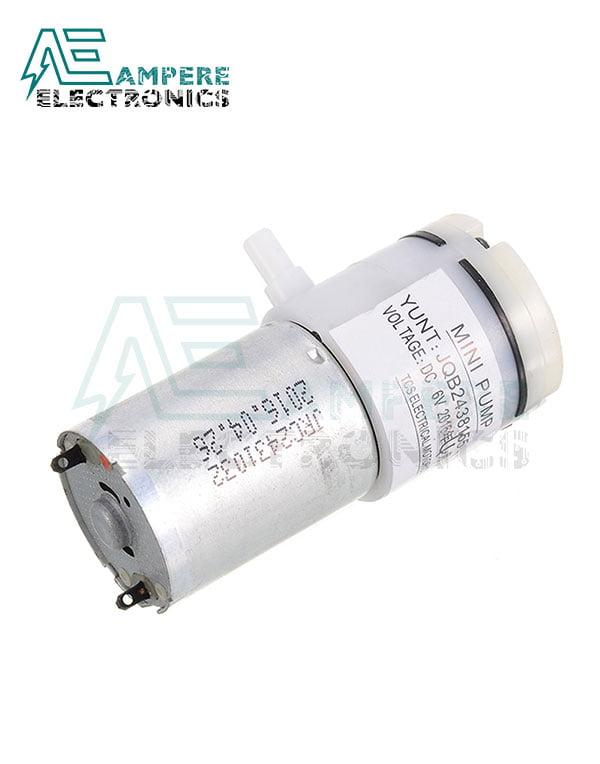 Micro Air Vacuum Pump Mini 370 Motor 6Vdc