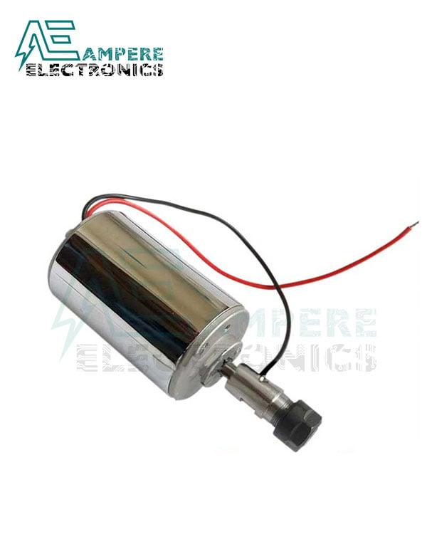 200W Air Cooled ER11 CNC Spindle Motor 12:48Vdc
