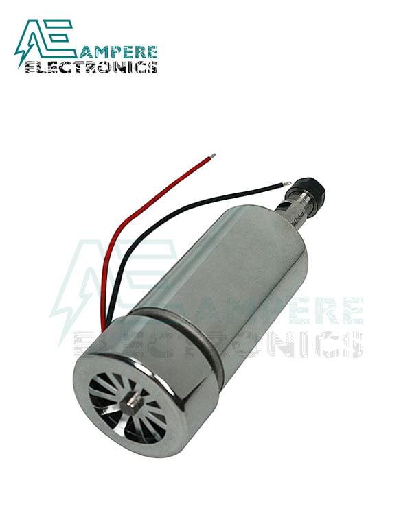 300W Air Cooled ER11 CNC Spindle Motor 12:48Vdc