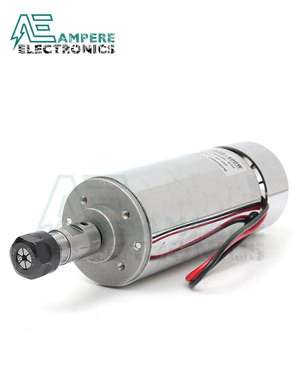 400W Air Cooled ER11 CNC Spindle Motor 12:48Vdc