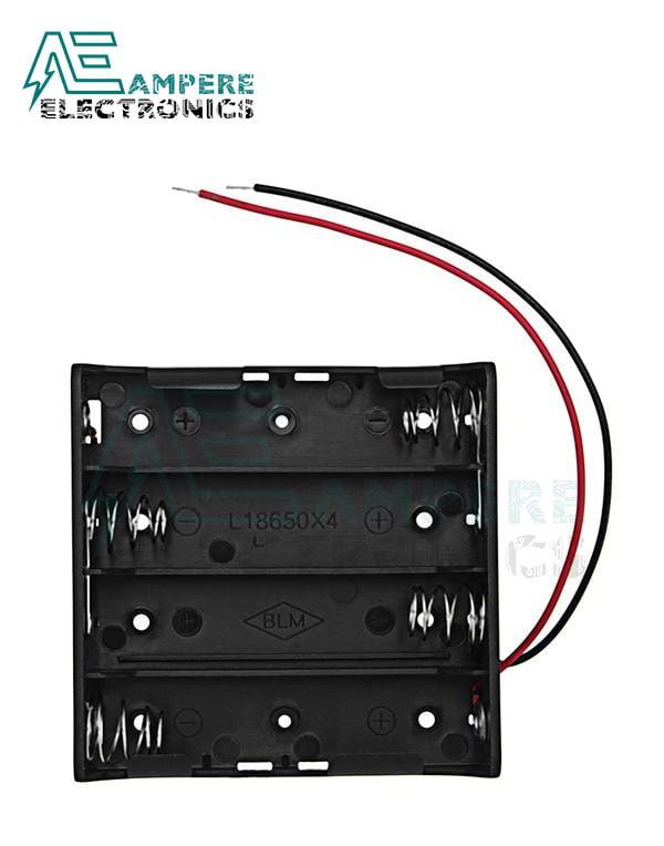 18650 Battery Holder – 4 Cells