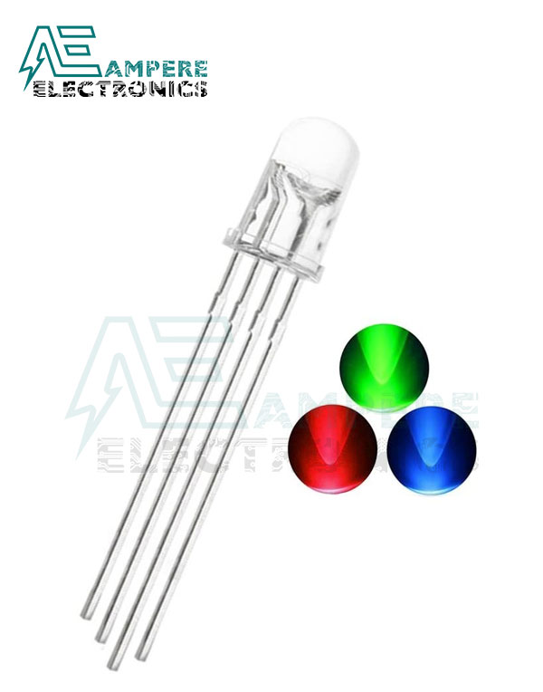 LED RGB Cathode 4-PIN (5mm)