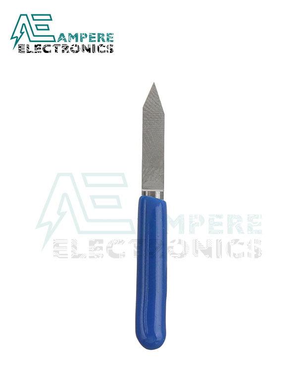 Engraving pits 30 degree – 0.1 mm – 3.175 mm