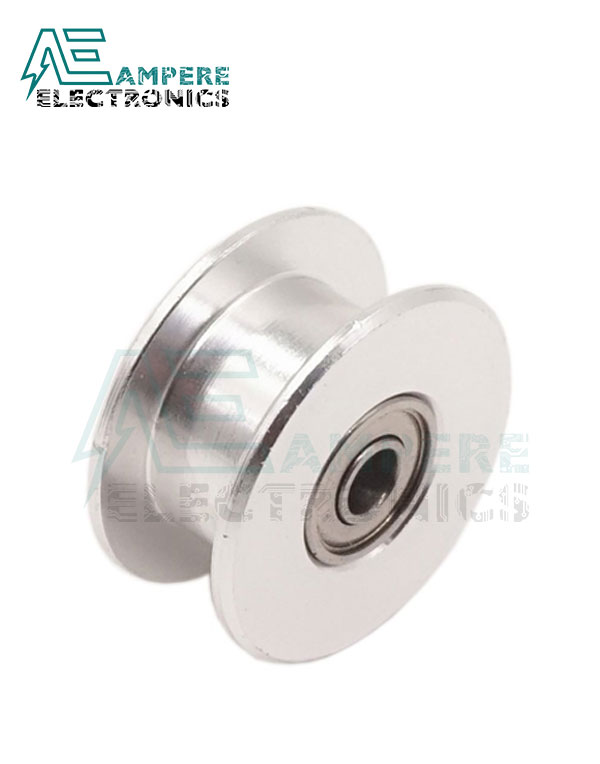 Toothless GT2 Idler Pulley 5mm Bore for 3D Printer 6mm Width Timing Belt
