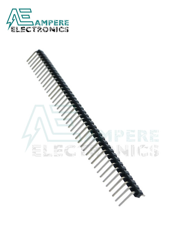 Pin Header male (2.54mm) 1X40 Right Angle