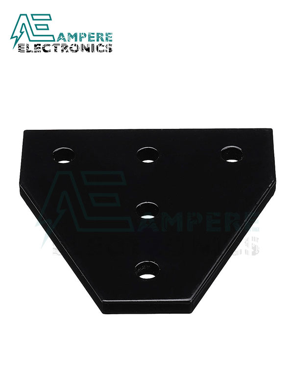 Aluminum 5-Holes 90 Degree T-Joint Plate for 2020 Aluminum Profile