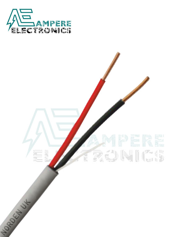 20ِ AWG – 2 Core Telephone Paired Cable 1 Meter | ELSEWEDY