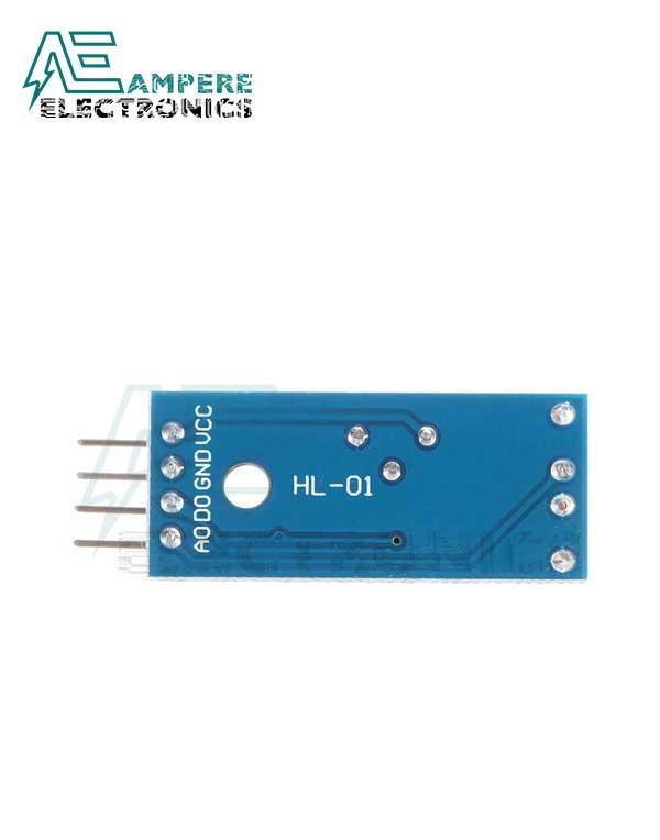 4Pin LDR Module - Optical Sensitive Resistance Light Detection Sensor Module