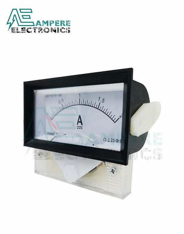 0-50A Analog Ammeter Panel Meter