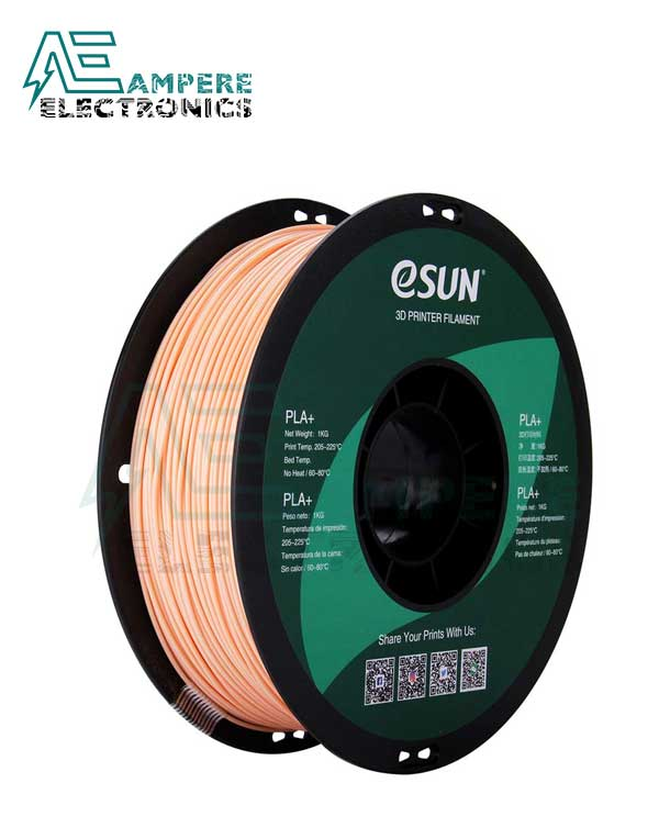 eSUN Beige Color 3d Printer Filament PLA+ 1.75mm – 1kg/Roll