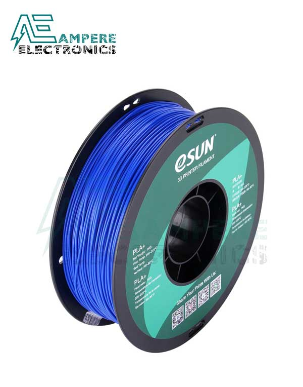 eSUN Blue Color 3d Printer Filament PLA+ 1.75mm - 1kg/Roll