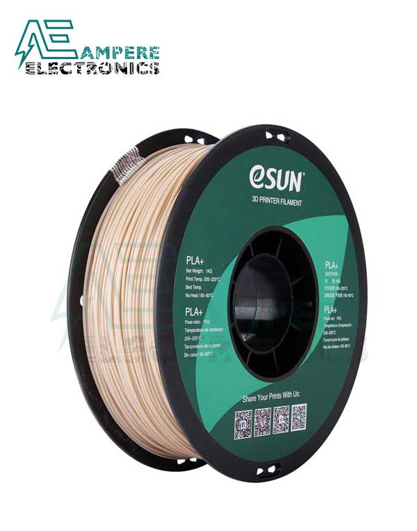 eSUN Skin Color 3d Printer Filament PLA+ 1.75mm – 1kg/Roll