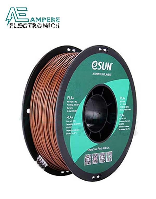 eSUN Brown Color 3d Printer Filament PLA+ 1.75mm – 1kg/Roll