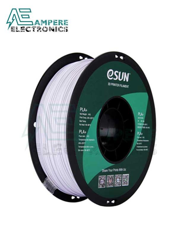 eSUN Cool White Color 3d Printer Filament PLA+ 1.75mm - 1kg/Roll