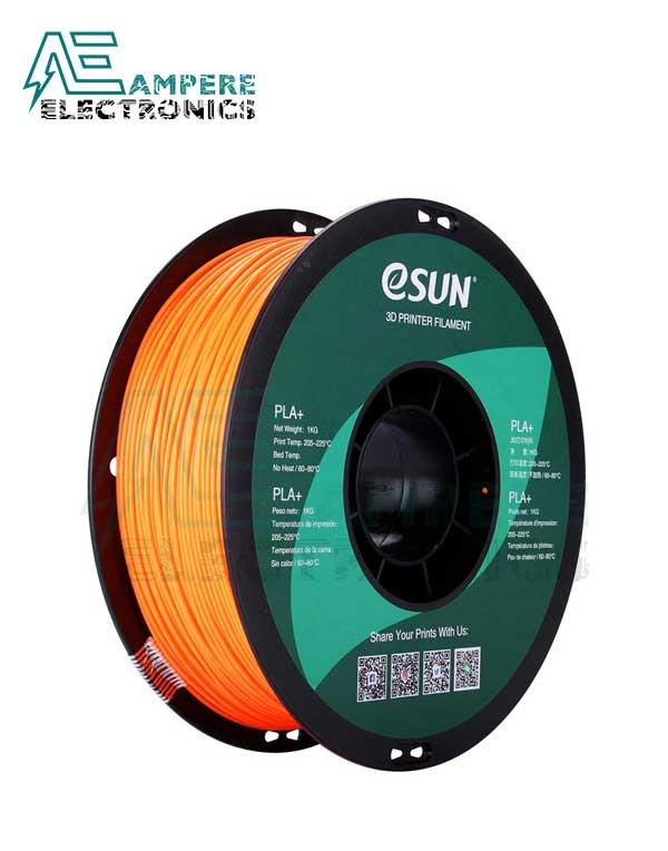 eSUN Orange Color 3d Printer Filament PLA+ 1.75mm - 1kg/Roll