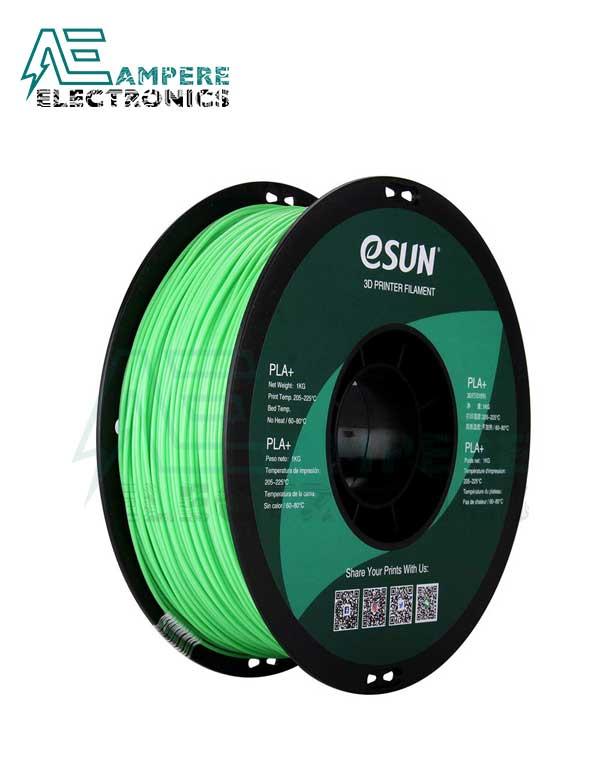 eSUN Peak Green Color 3d Printer Filament PLA+ 1.75mm - 1kg/Roll