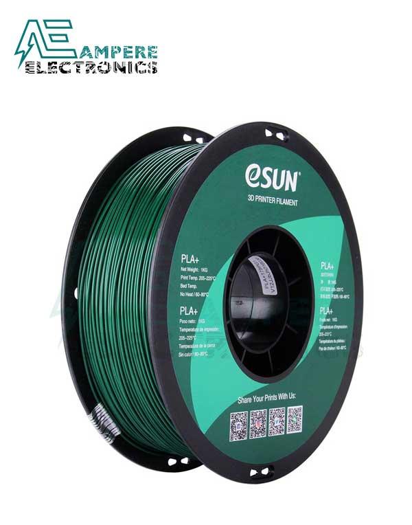 eSUN Pine Green Color 3d Printer Filament PLA+ 1.75mm - 1kg/Roll