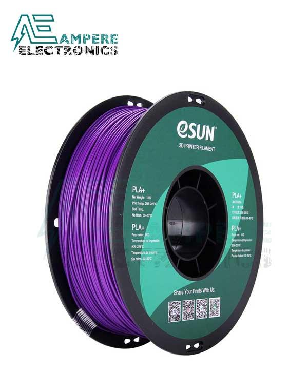 eSUN Purple Color 3d Printer Filament PLA+ 1.75mm – 1kg/Roll