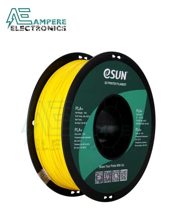 eSUN Yellow Color 3d Printer Filament PLA+ 1.75mm – 1kg/Roll