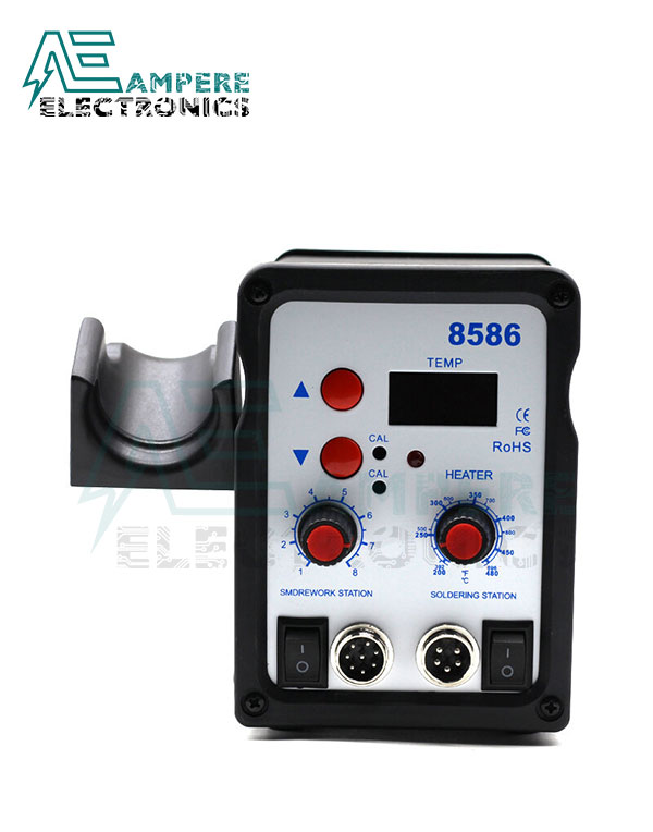 8586 – 2 In 1 Digital Smd Rework & Soldering Station