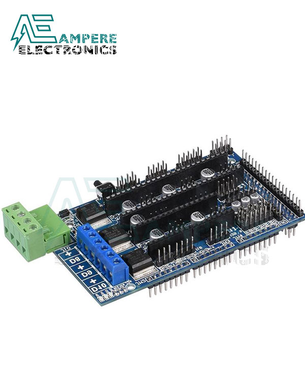 RAMPS 1.5 Reprap 3D Printer Arduino Mega Shield