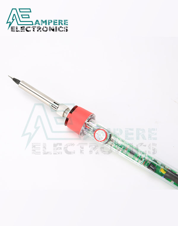 EH130-80 adjustable temperature Transparent Soldering Iron – 80 Watt