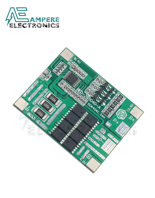 BMS 3S 30A 3 String lithium battery protection board 11.1V 18650