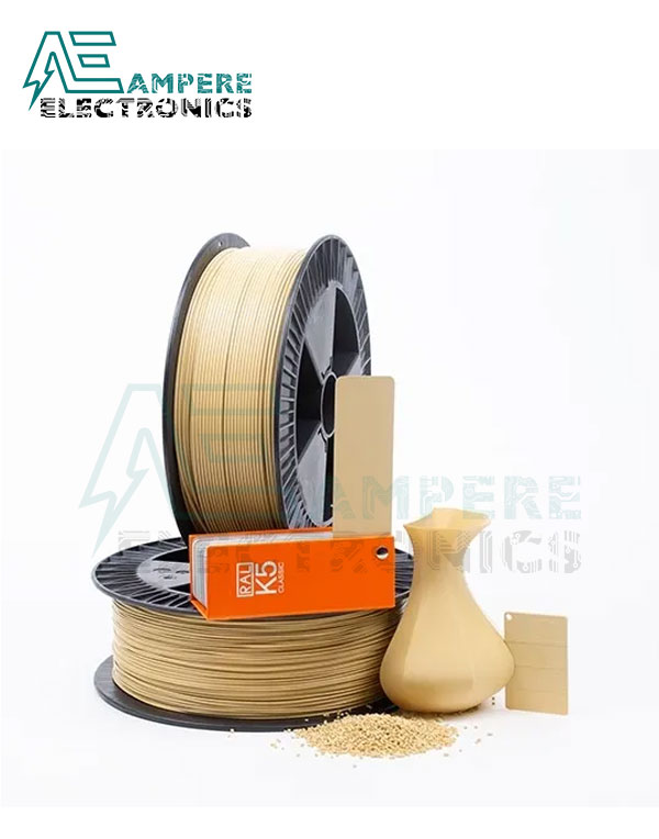 MAXWELL Beige Color PLA Filament 1.75mm – 1kg/Roll