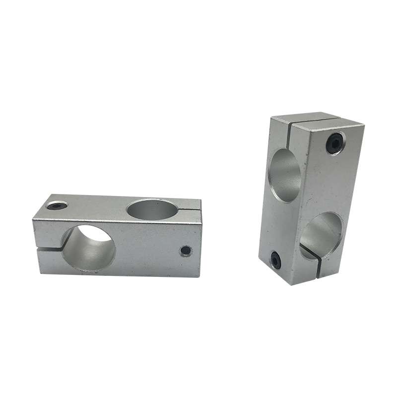 10mm Dia. Double Holes Cross Linear Shaft Support