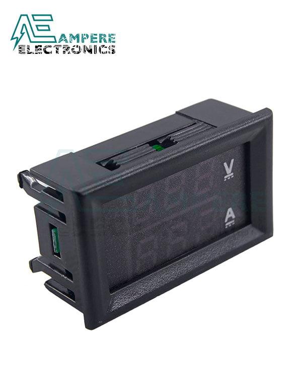 100Vdc 10A Voltmeter Ammeter Panel
