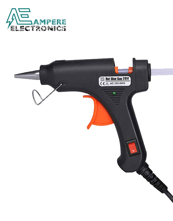 100W Hot Glue Gun with On/Off Switch