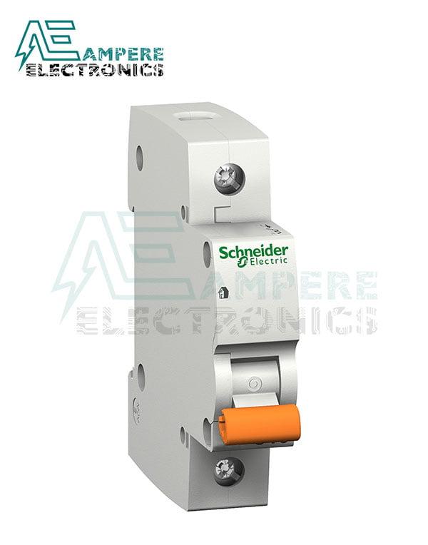 12479 – Domae MCB – Miniature Circuit Breaker – 1P – 6A – C Curve – 4500A, Schneider Electric