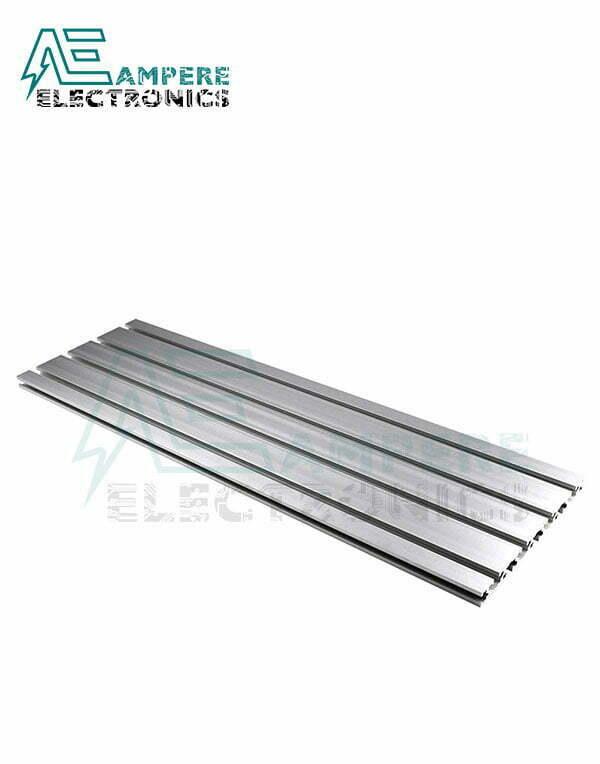 15180 Aluminum Profile Extrusion – Silver Anodized