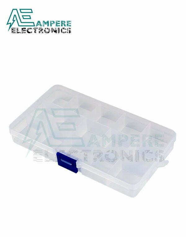 Plastic Fliptop Box (12.5*6.5*2.2cm)