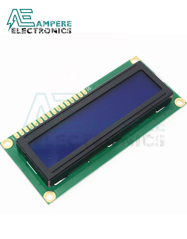 LCD1602 Blue Backlight