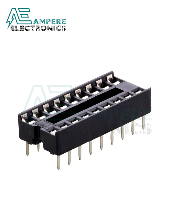 18-Pin DIP IC Socket
