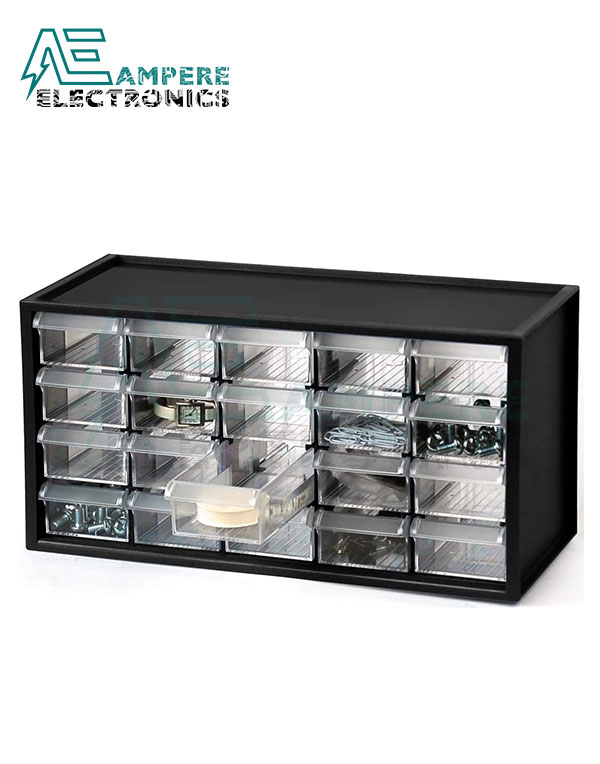 20 Clear Plastic Drawers (A9-520)
