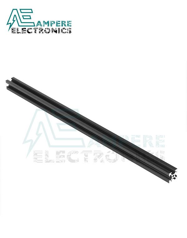 2020 V-Slot Aluminum Profile Extrusion (1M – Black Anodized)