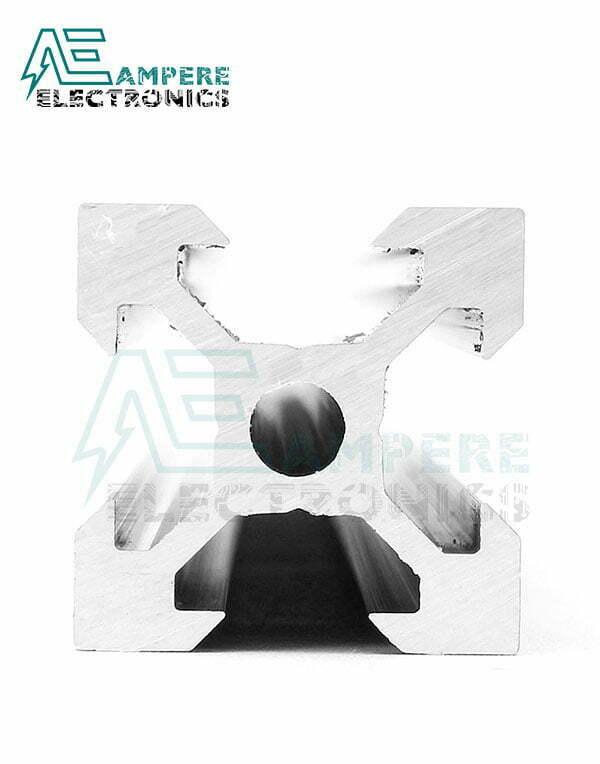 2020 V-Slot Aluminum Profile Extrusion (1M - Black Anodized)